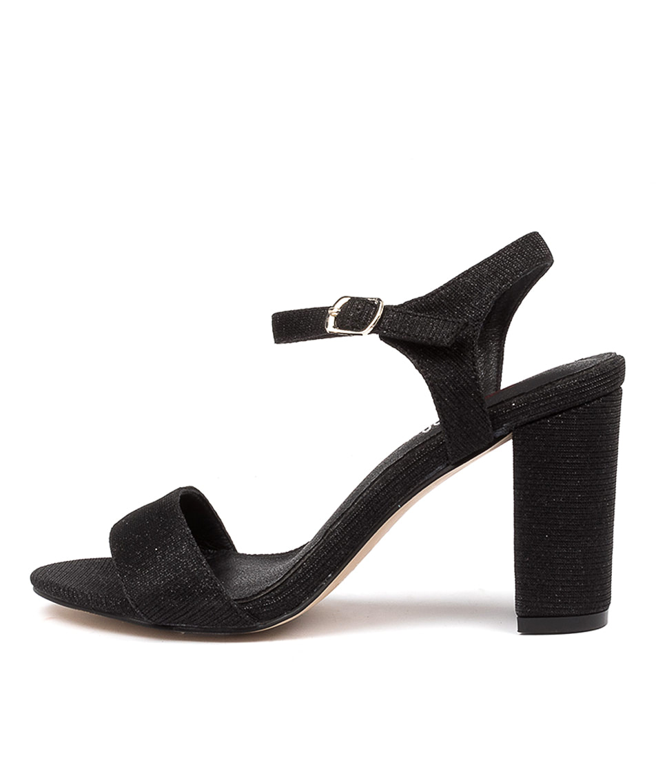 Buy I Love Billy Dixie Black Heeled Sandals online with free shipping