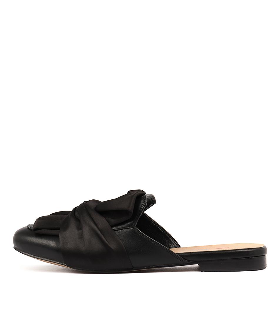 I Love Billy Gabrino Black Flat Shoes
