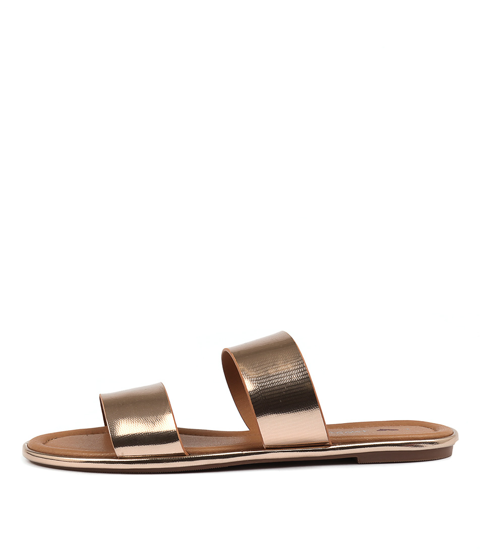 I Love Billy Lapika Rose Gold Sandals