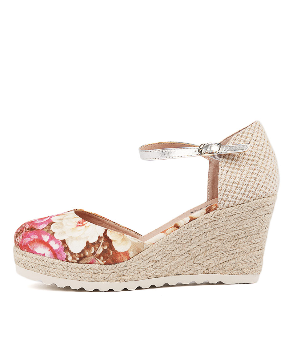 I Love Billy Norrits Taupe Heeled Sandals