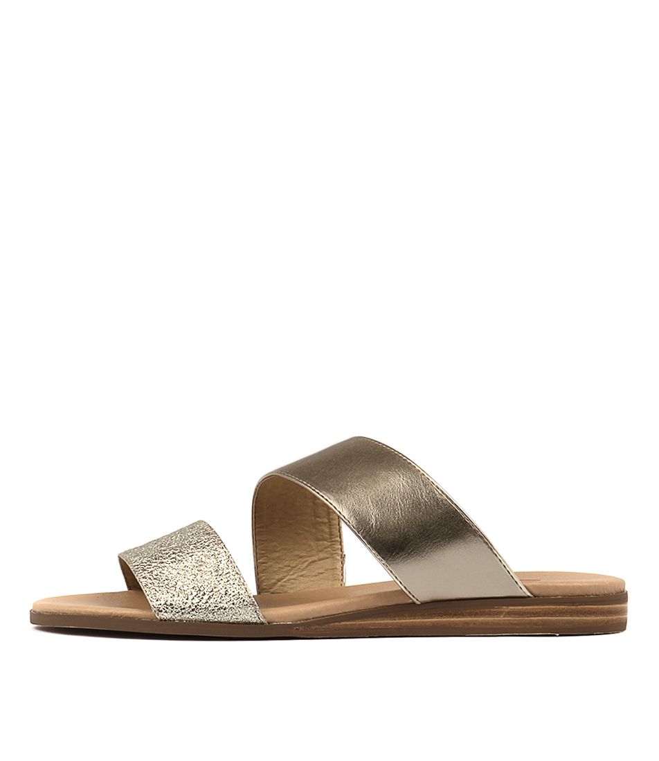 I Love Billy Olivette Pale Gold Sandals