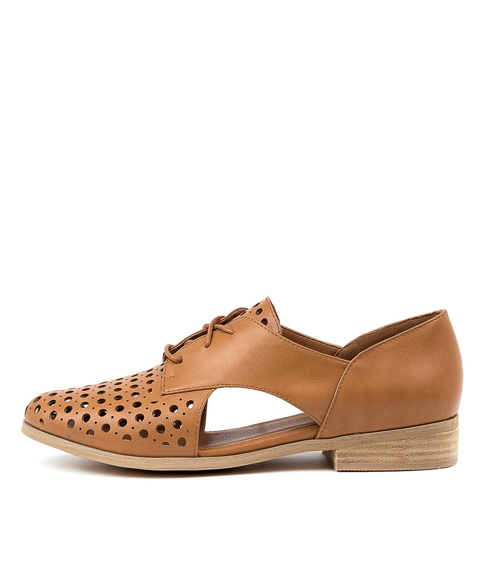 Buy I Love Billy Quietly Tan Flats online with free shipping