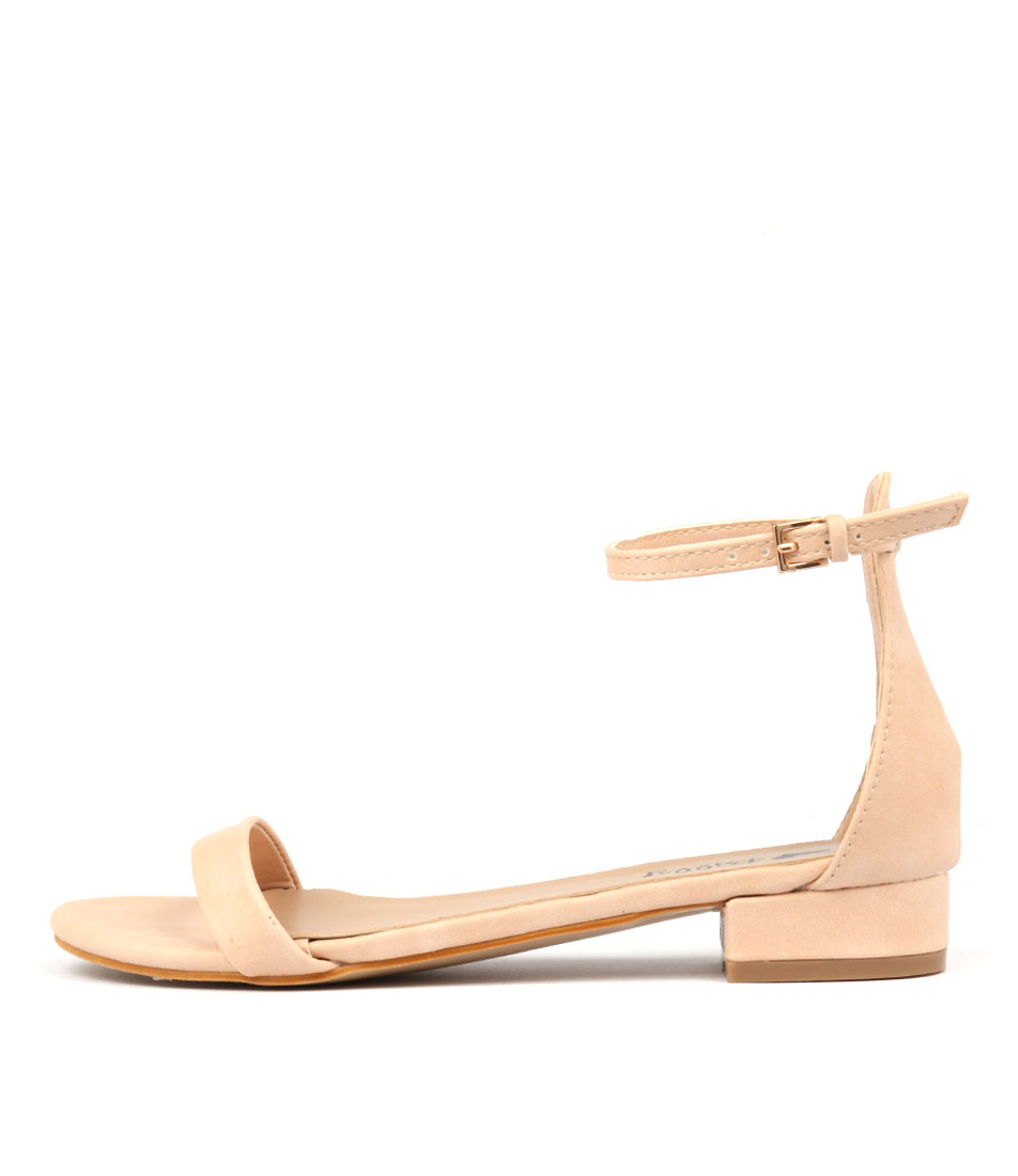 I Love Billy Xion Nude Sandals