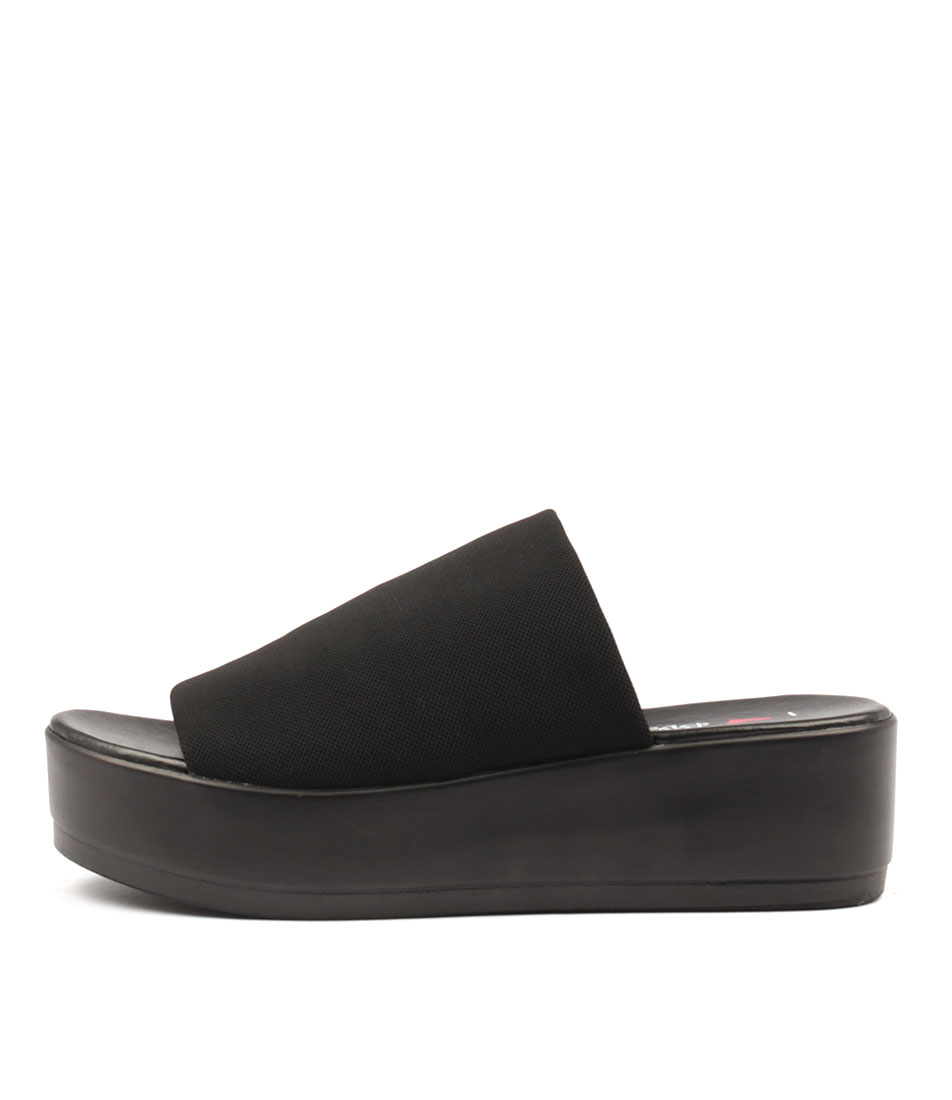 I Love Billy Kiara Black Heeled Sandals