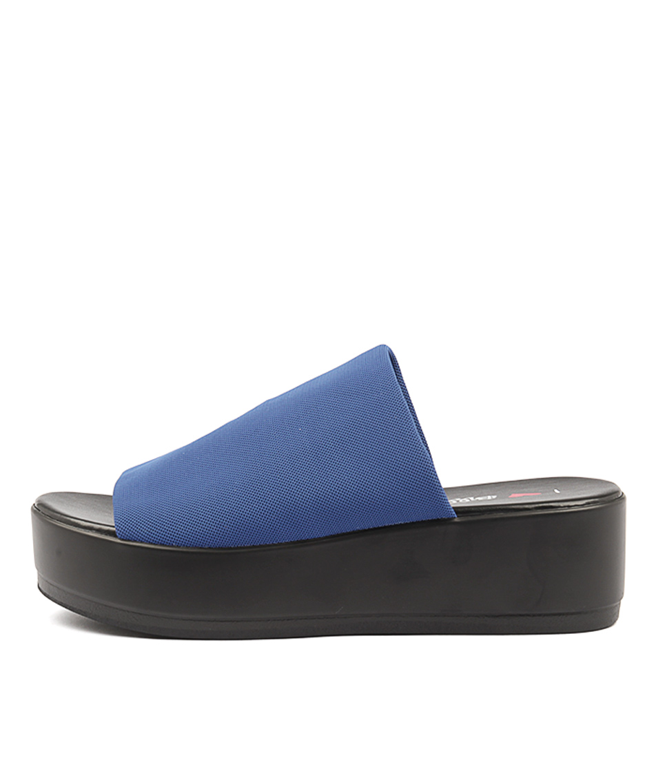 buy I Love Billy Kiara Blue Heeled Sandals shop I Love Billy Sandals online