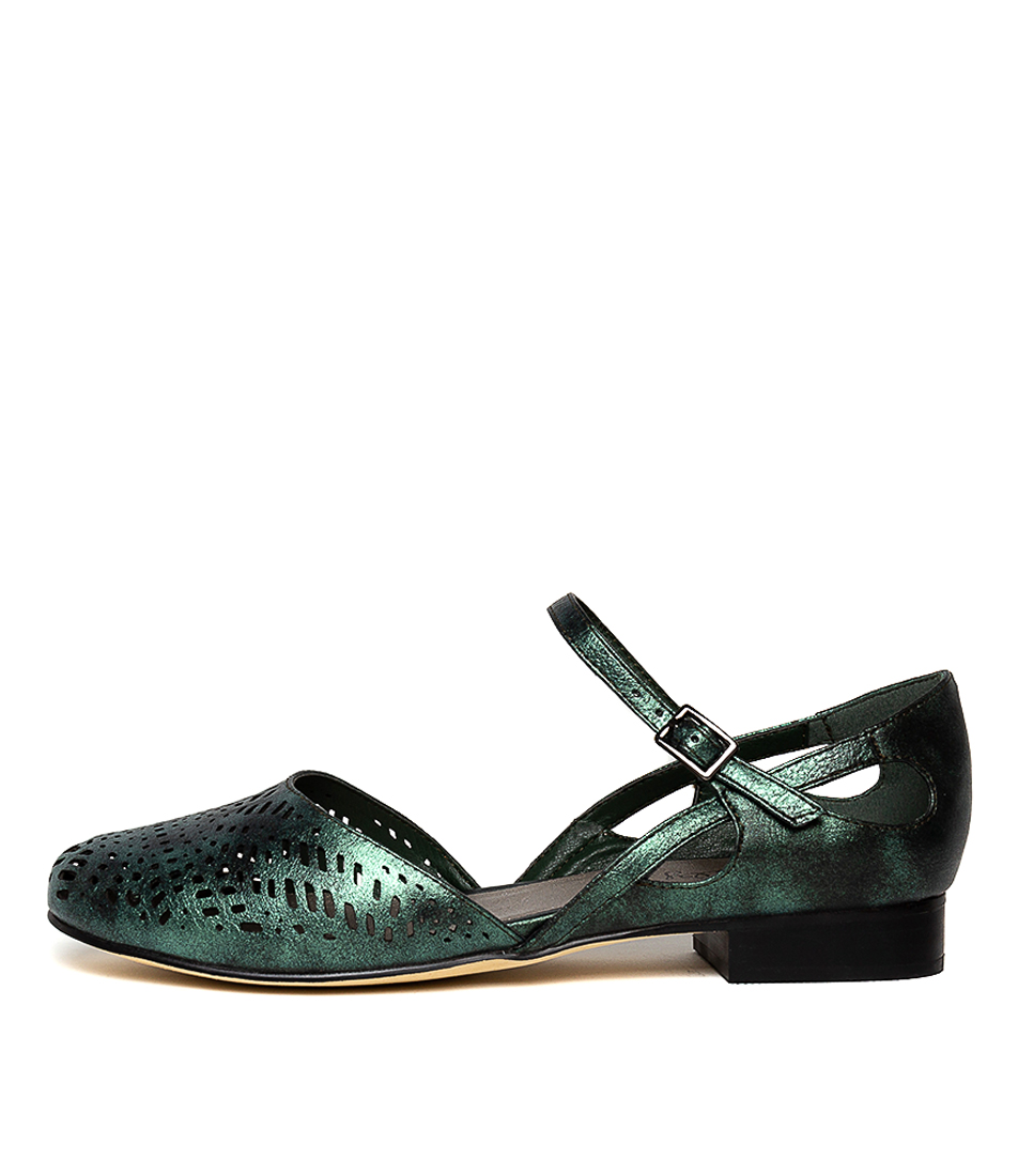 Buy I Love Billy Alvie Forest Metallic Flats online with free shipping