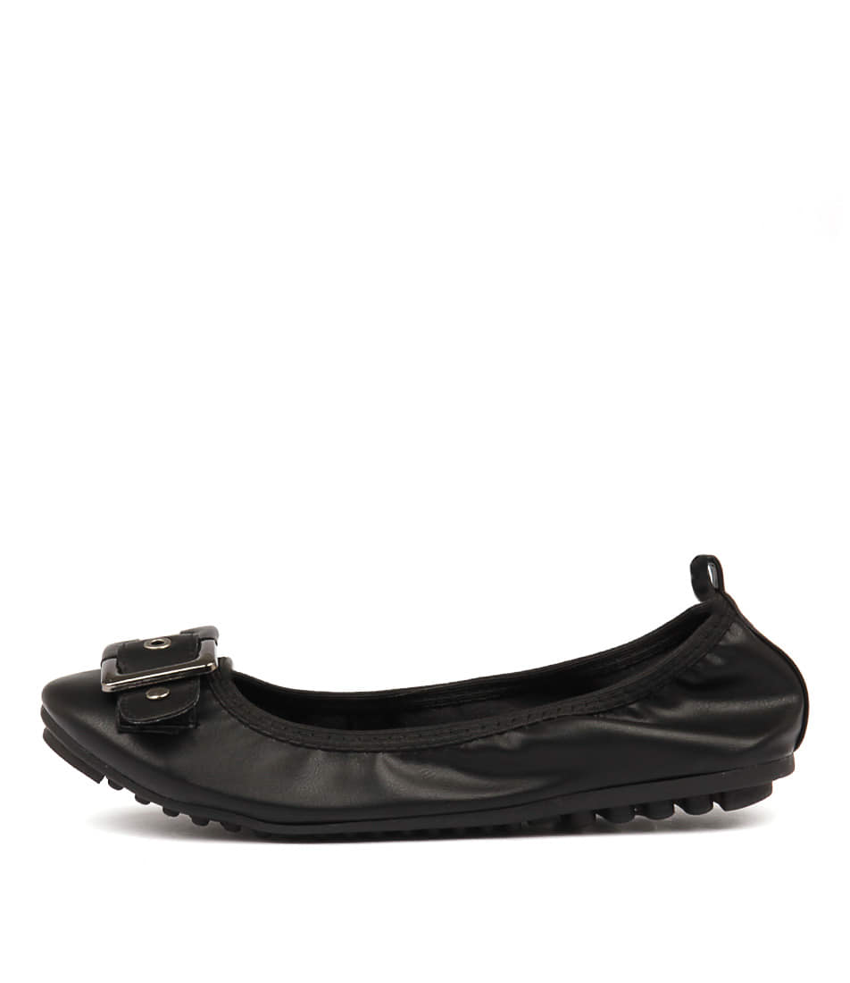 Buy I Love Billy Cory Black Flats online with free shipping