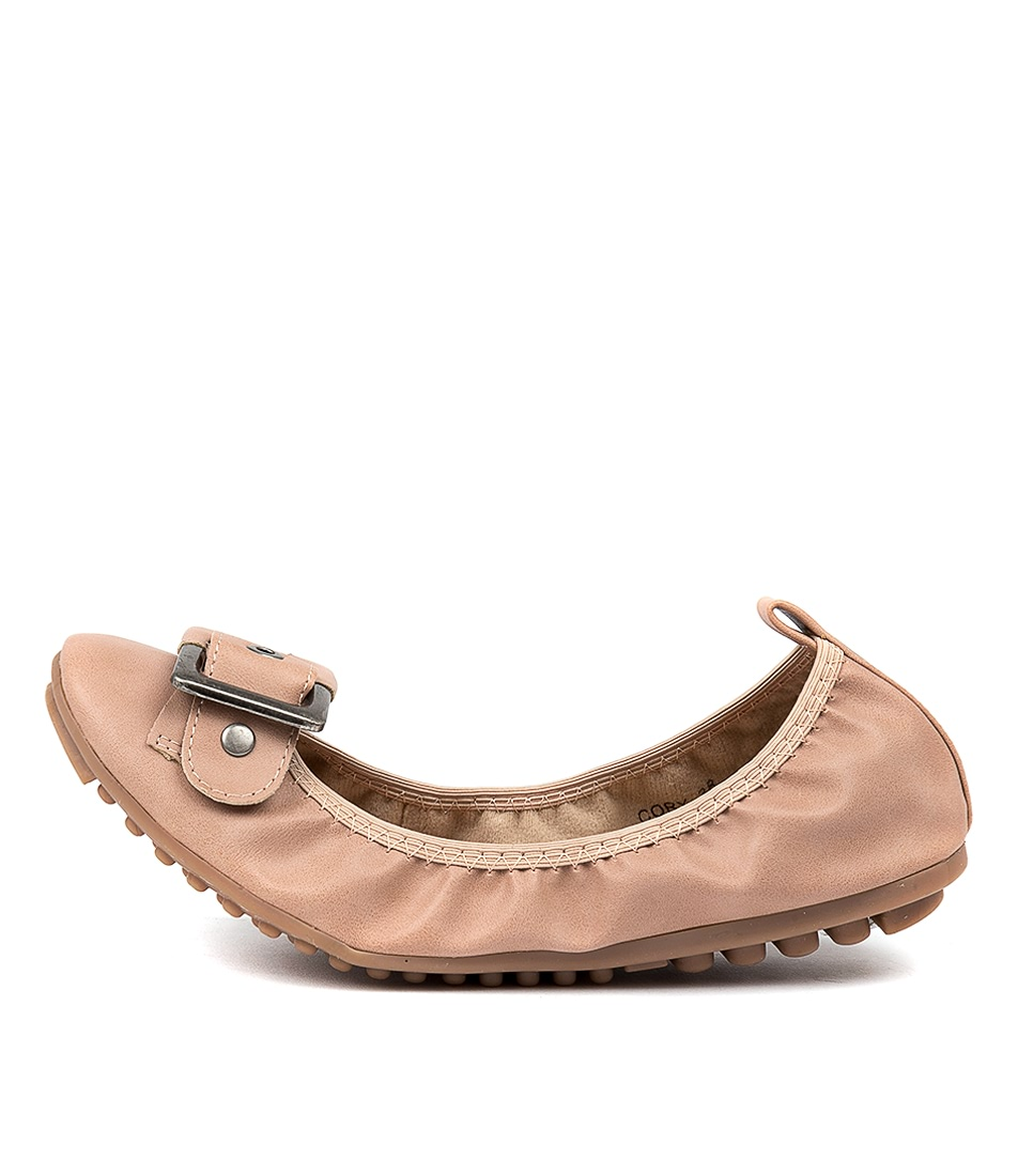 Buy I Love Billy Cory Cafe Flats online with free shipping