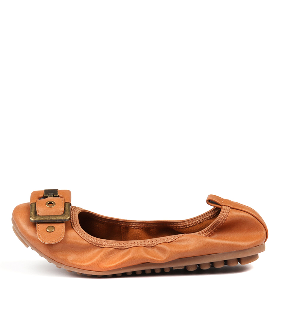 Buy I Love Billy Cory Tan Flats online with free shipping