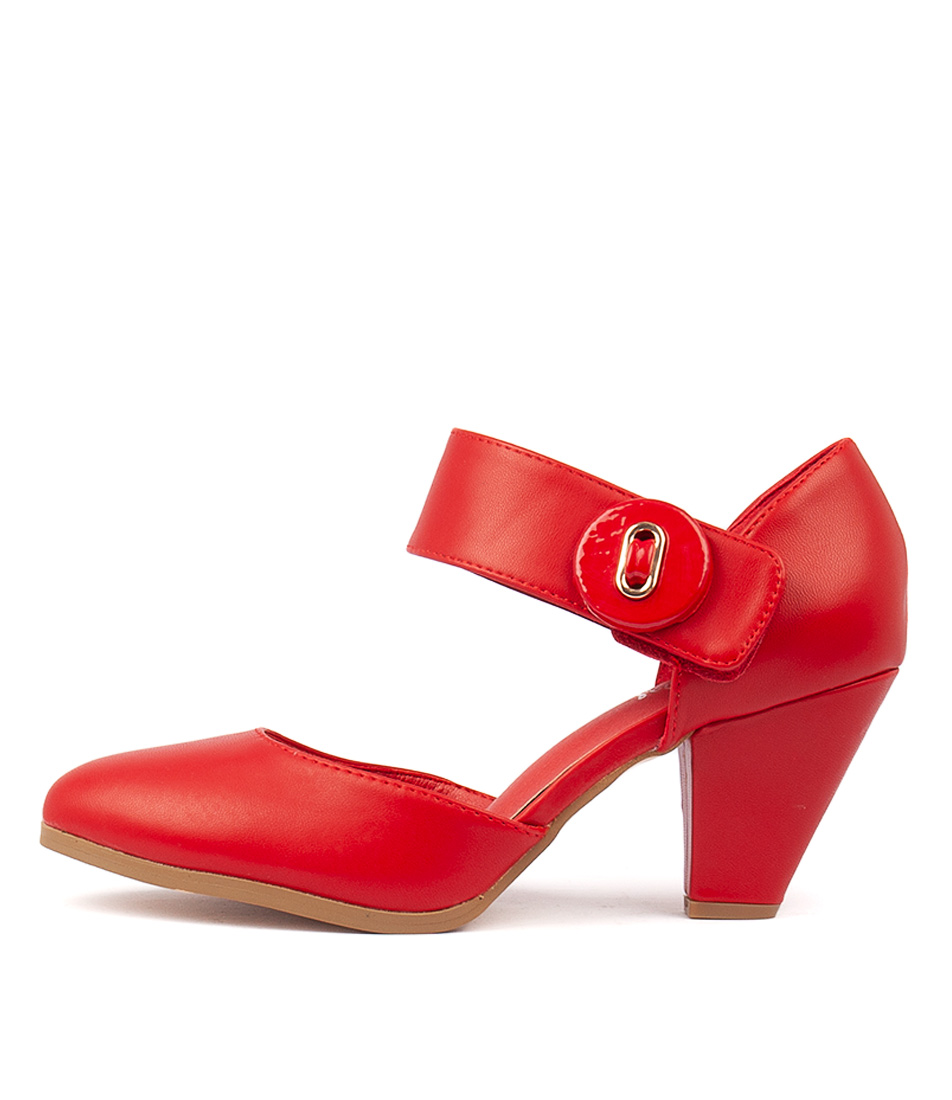 Buy I Love Billy Cyndias Red High Heels online with free shipping