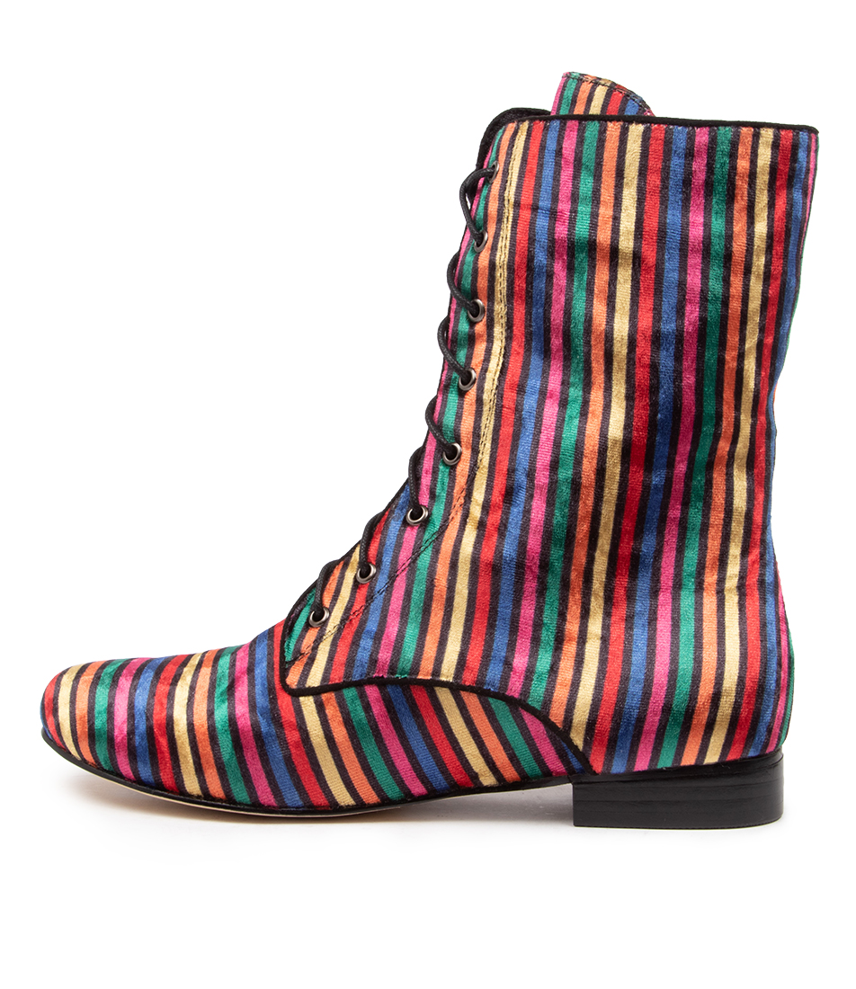 Buy I Love Billy Eulah Bright Multi Ankle Boots online with free shipping