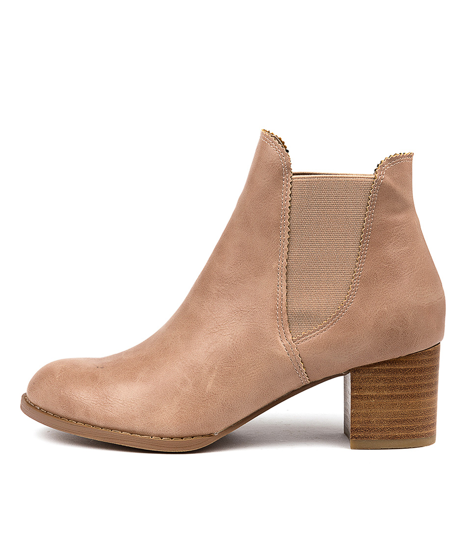 Buy I Love Billy Jalises Blush Ankle Boots online with free shipping