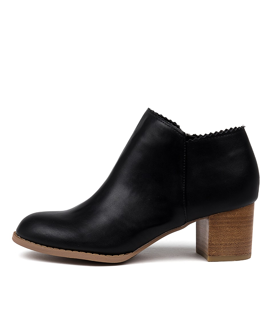 Buy I Love Billy Jovan Black Ankle Boots online with free shipping