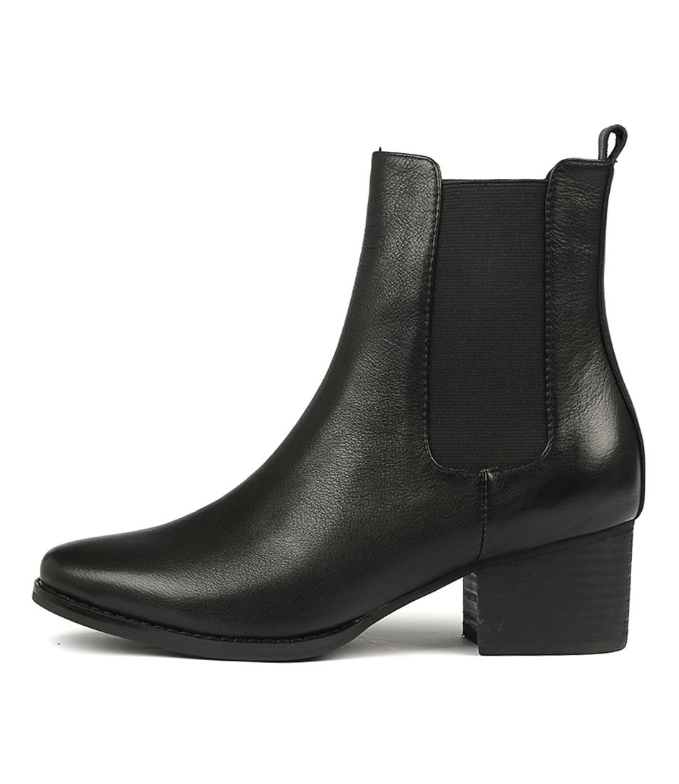 I Love Billy Lella Black Ankle Boots