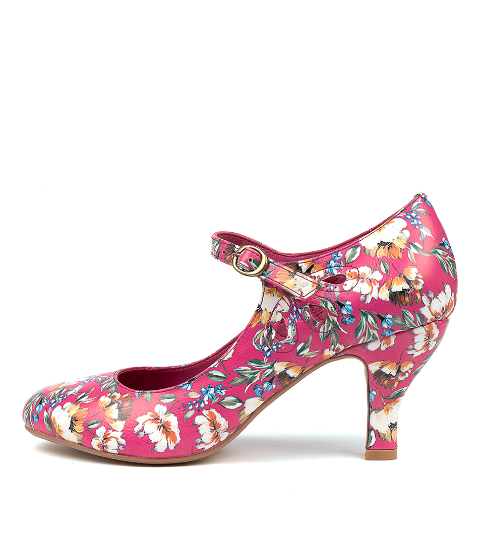 Buy I Love Billy Mendy Fuchsia Freesia High Heels online with free shipping