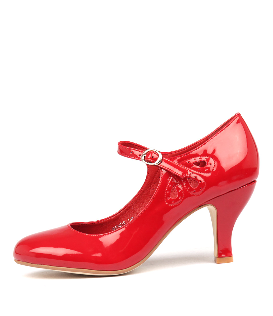Buy I Love Billy Mendy Red High Heels online with free shipping