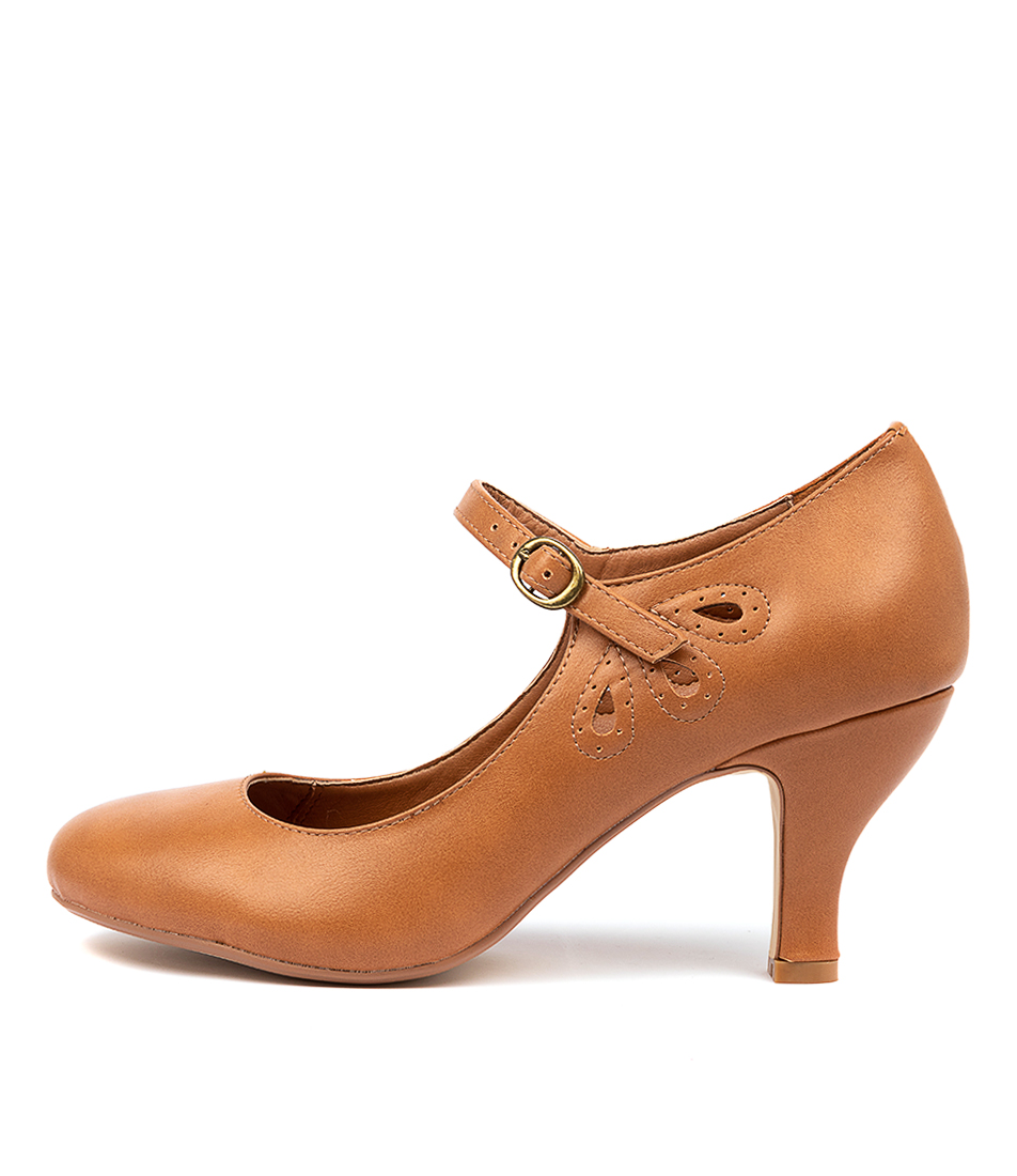 Buy I Love Billy Mendy Tan High Heels online with free shipping