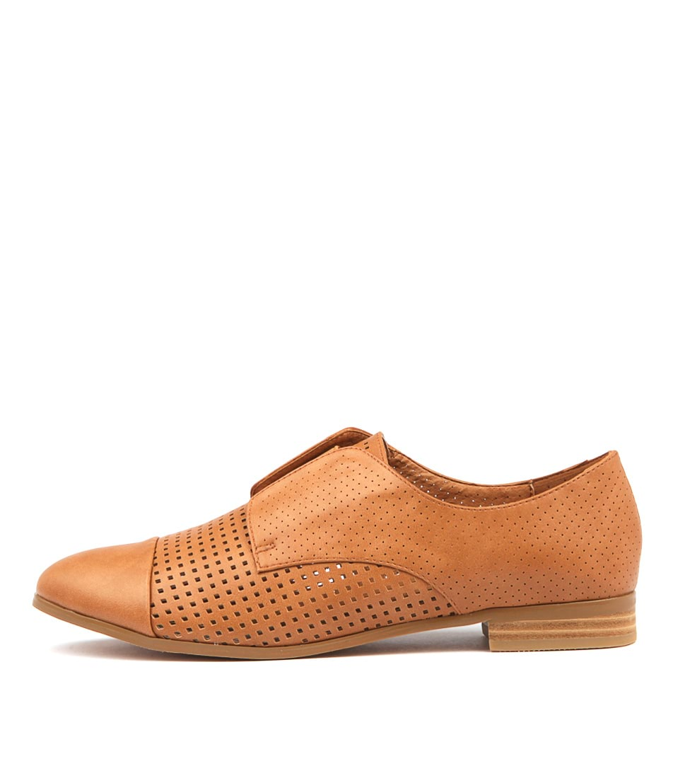 I Love Billy Robbina Tan Flat Shoes