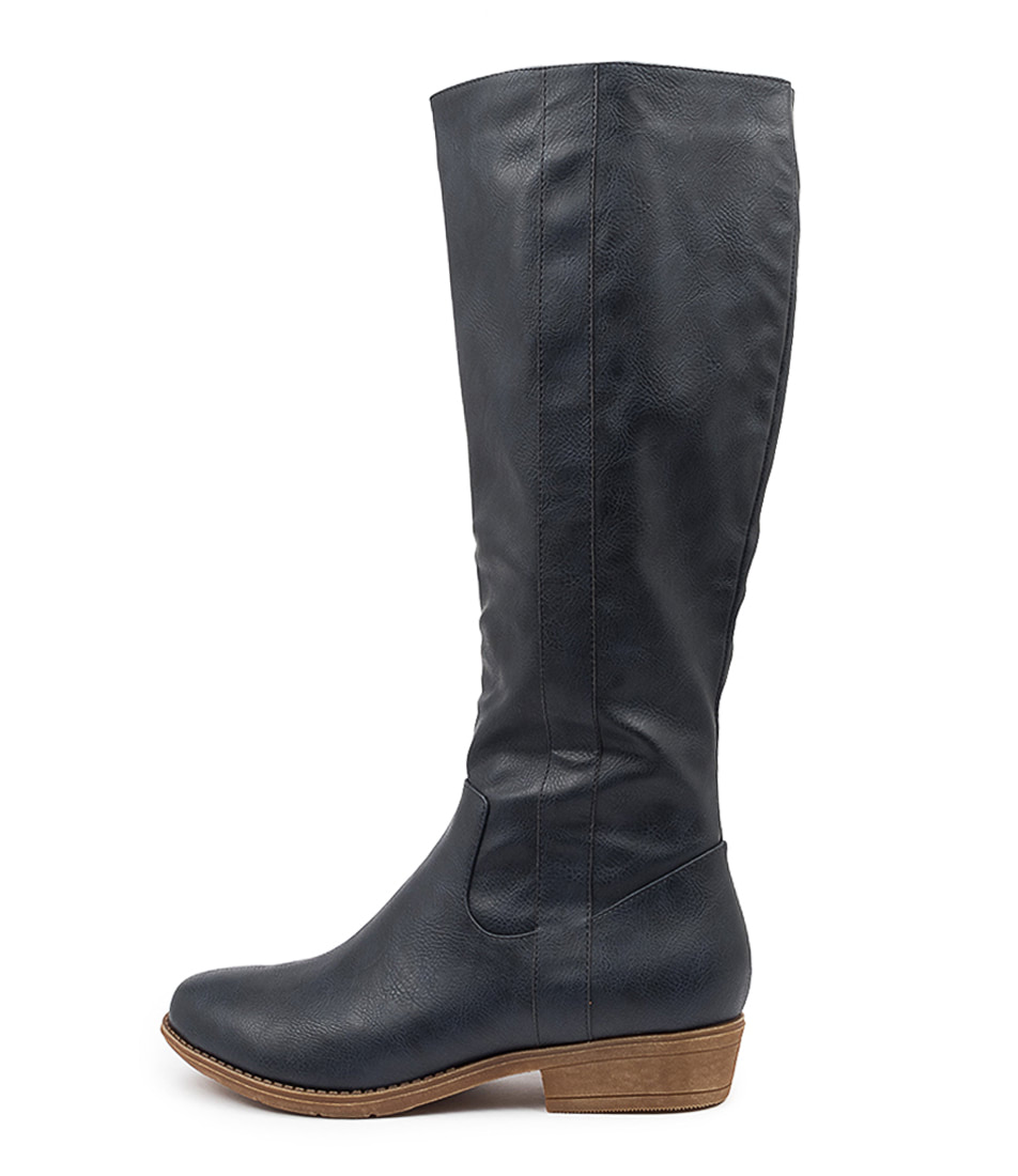 Buy I Love Billy Ronin Ink Long Boots online with free shipping