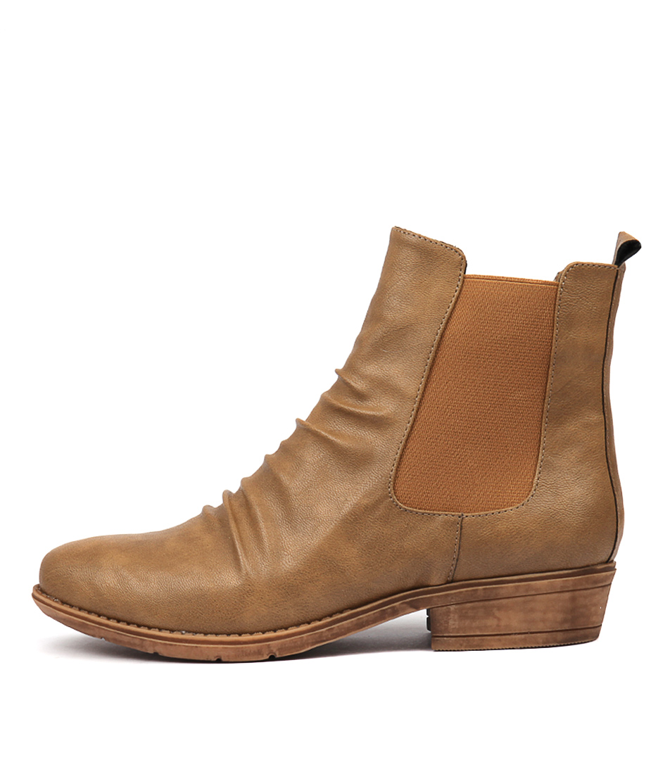 Photo of I Love Billy Rufuser Taupe Ankle Boots womens shoes