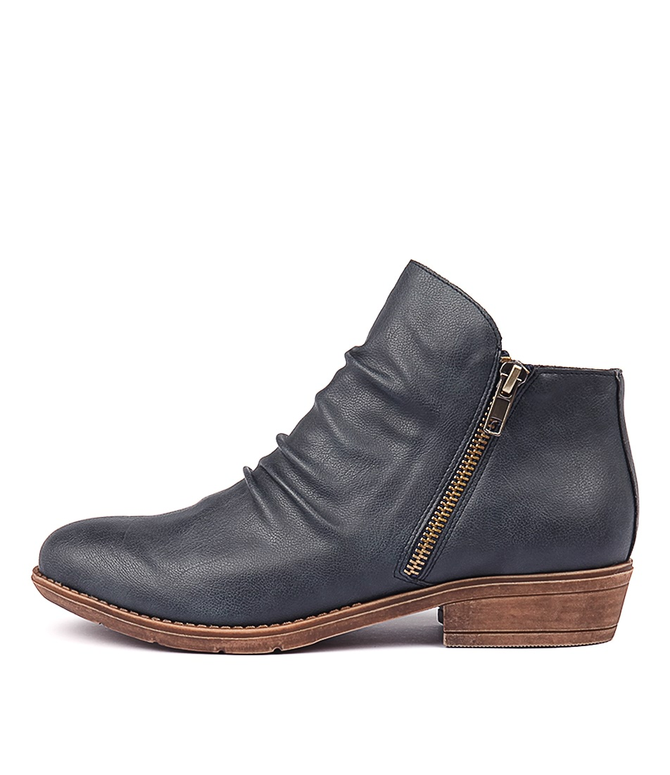 Buy I Love Billy Rosia Navy Ankle Boots online with free shipping