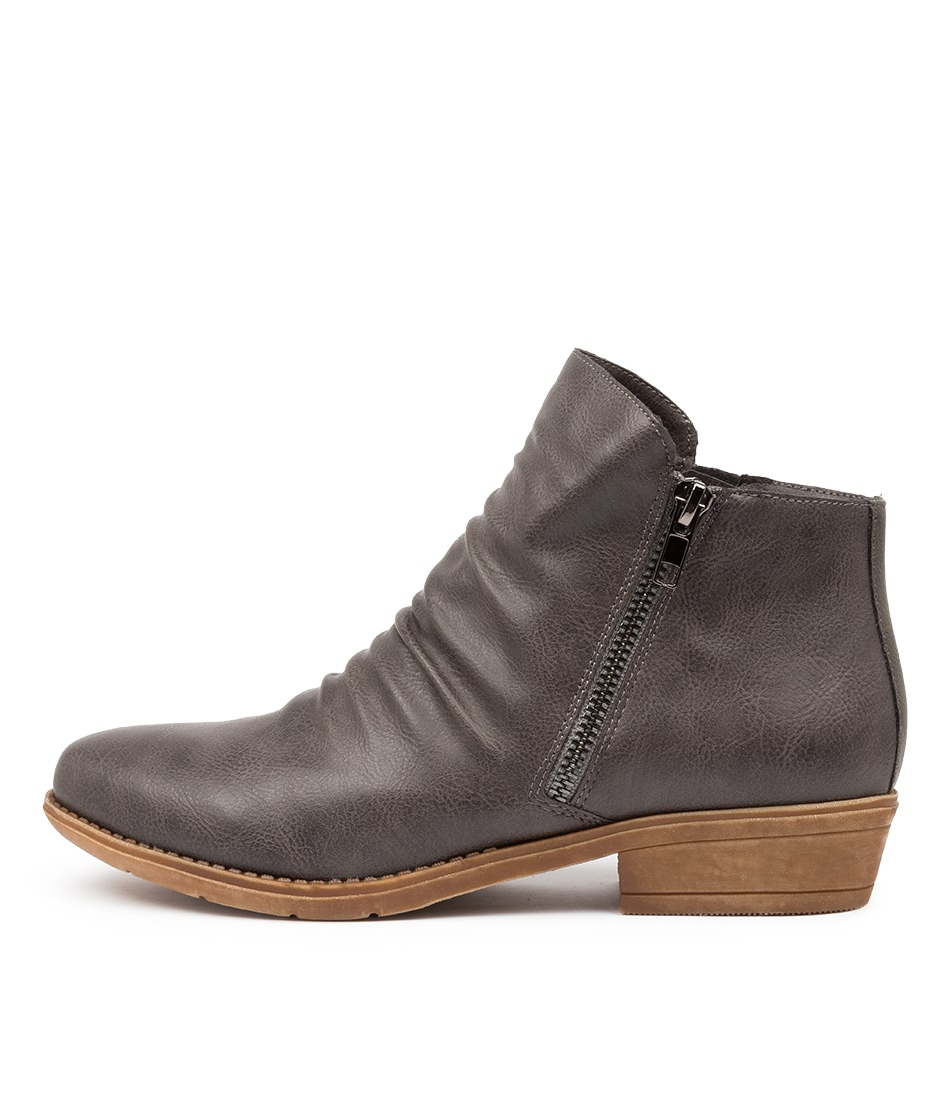 Buy I Love Billy Rosia Charcoal Ankle Boots online with free shipping