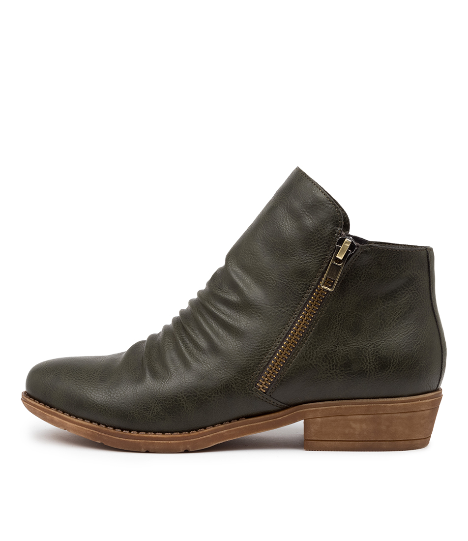 Buy I Love Billy Rosia Moss Ankle Boots online with free shipping