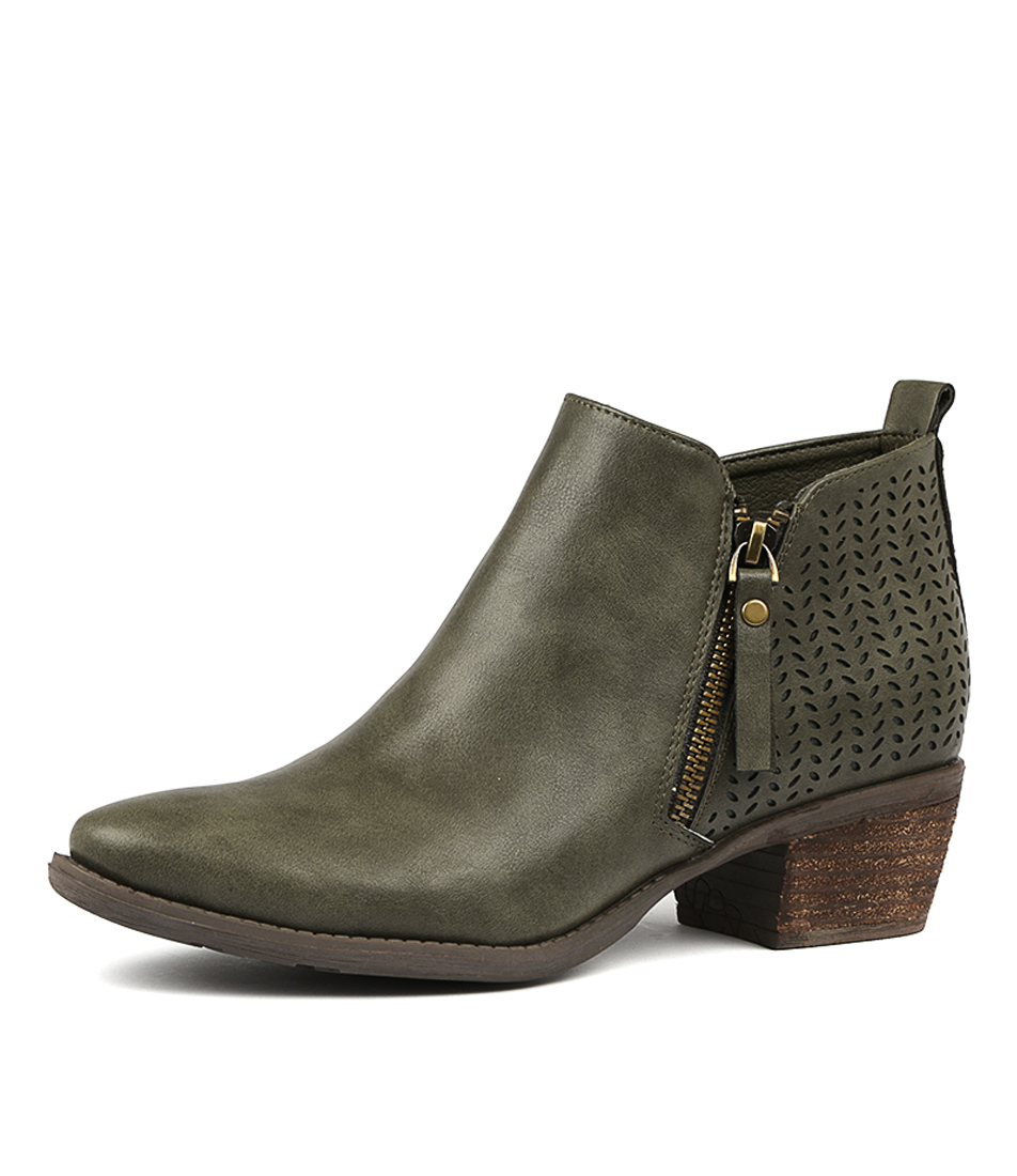 New-I-Love-Billy-Scott-Womens-Shoes-Casual-Boots-Ankle thumbnail 3