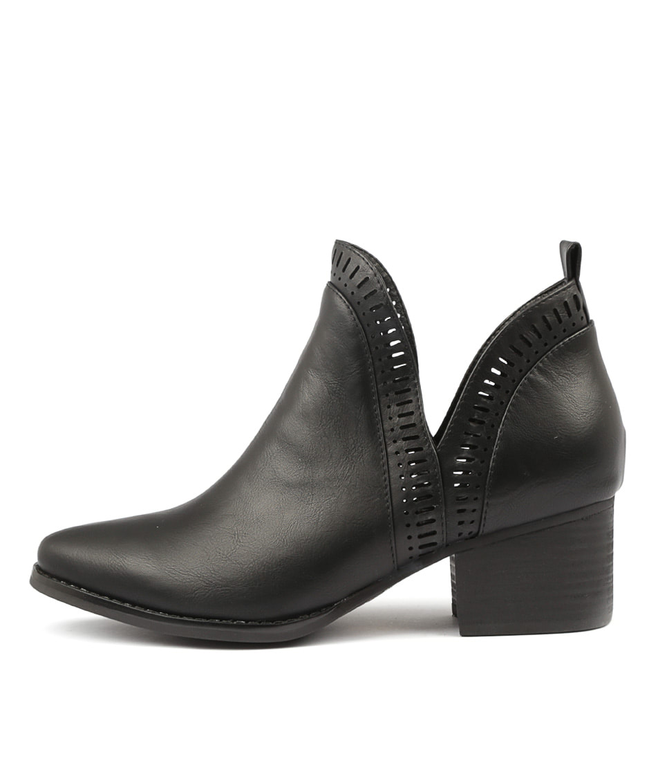 Buy I Love Billy Lissamo Black Ankle Boots online with free shipping