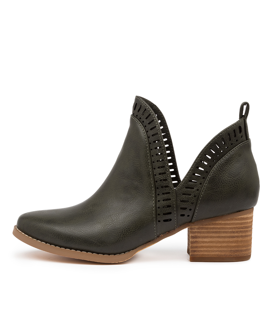Buy I Love Billy Lissamo Moss Ankle Boots online with free shipping