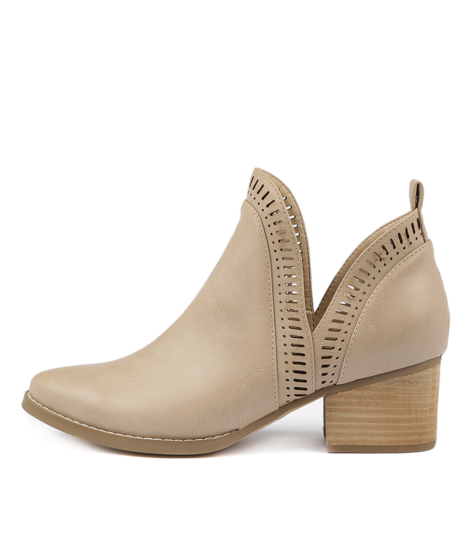 Buy I Love Billy Lissamo Latte Ankle Boots online with free shipping