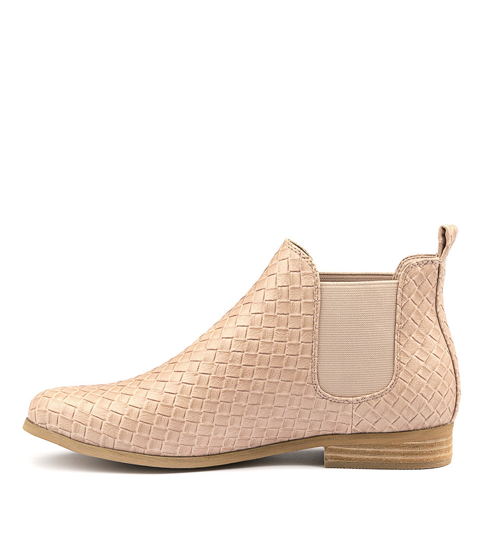 I Love Billy Ettie Blush Ankle Boots