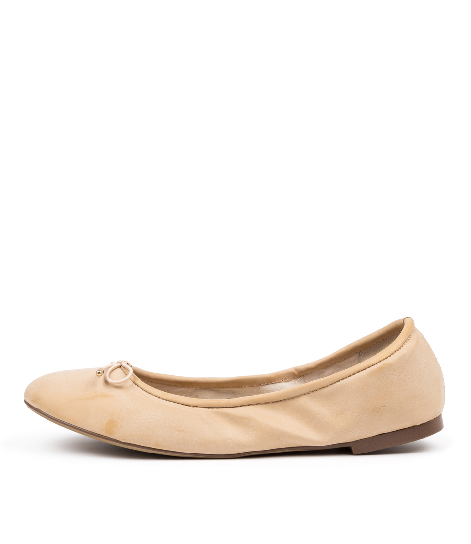 Buy I Love Billy Venusa Nude Flats online with free shipping