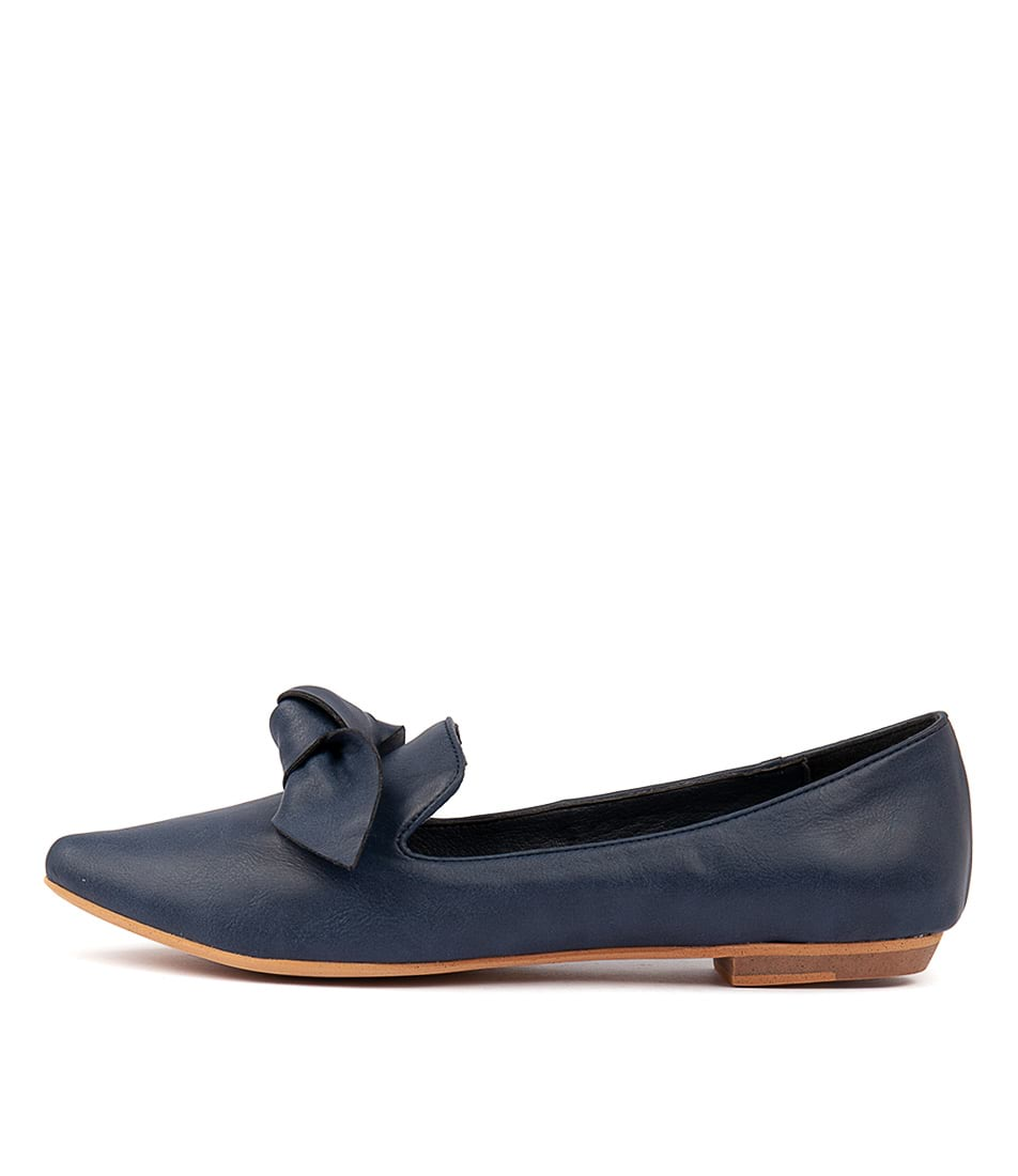 Buy I Love Billy Bowen Navy Flats online with free shipping