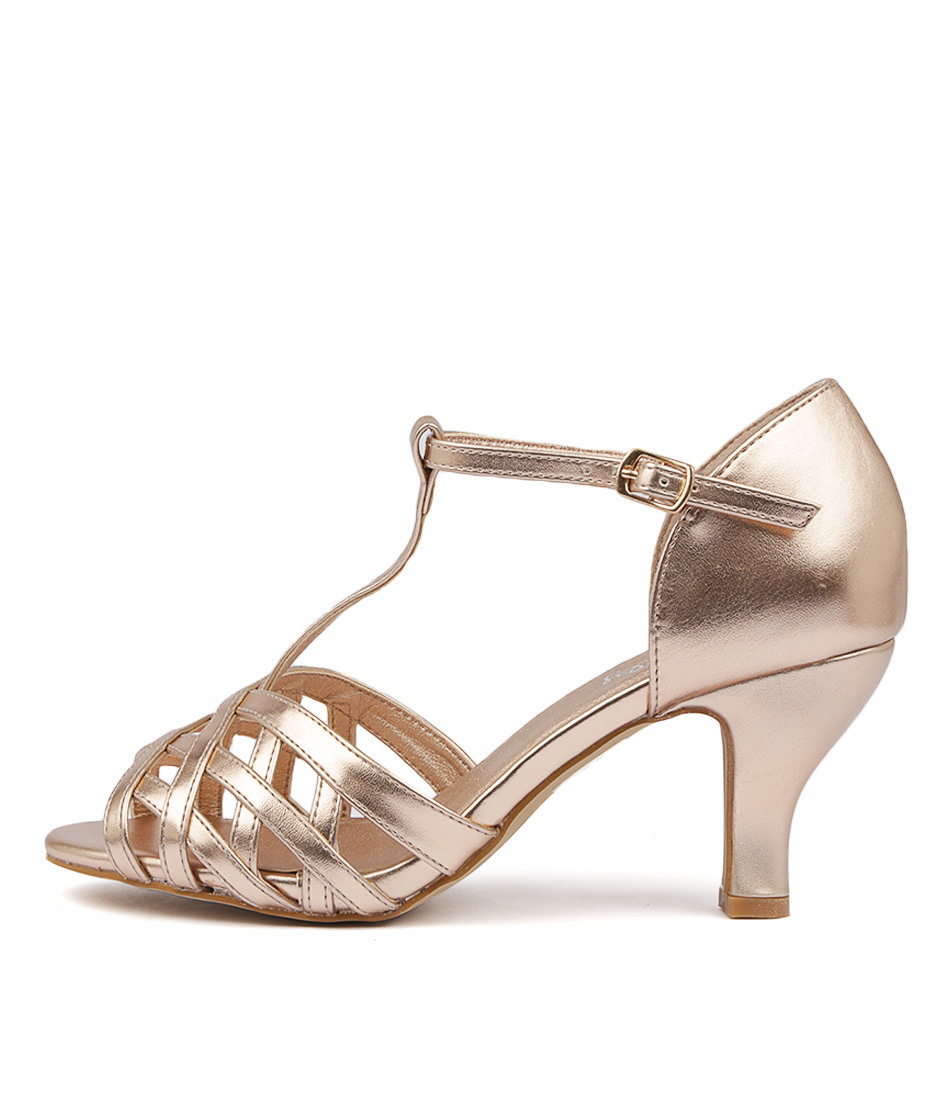 Buy I Love Billy Arvel Rose Gold High Heels online with free shipping