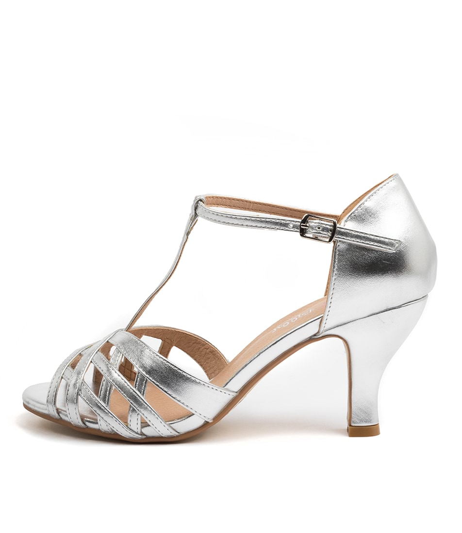 Buy I Love Billy Arvel Silver High Heels online with free shipping