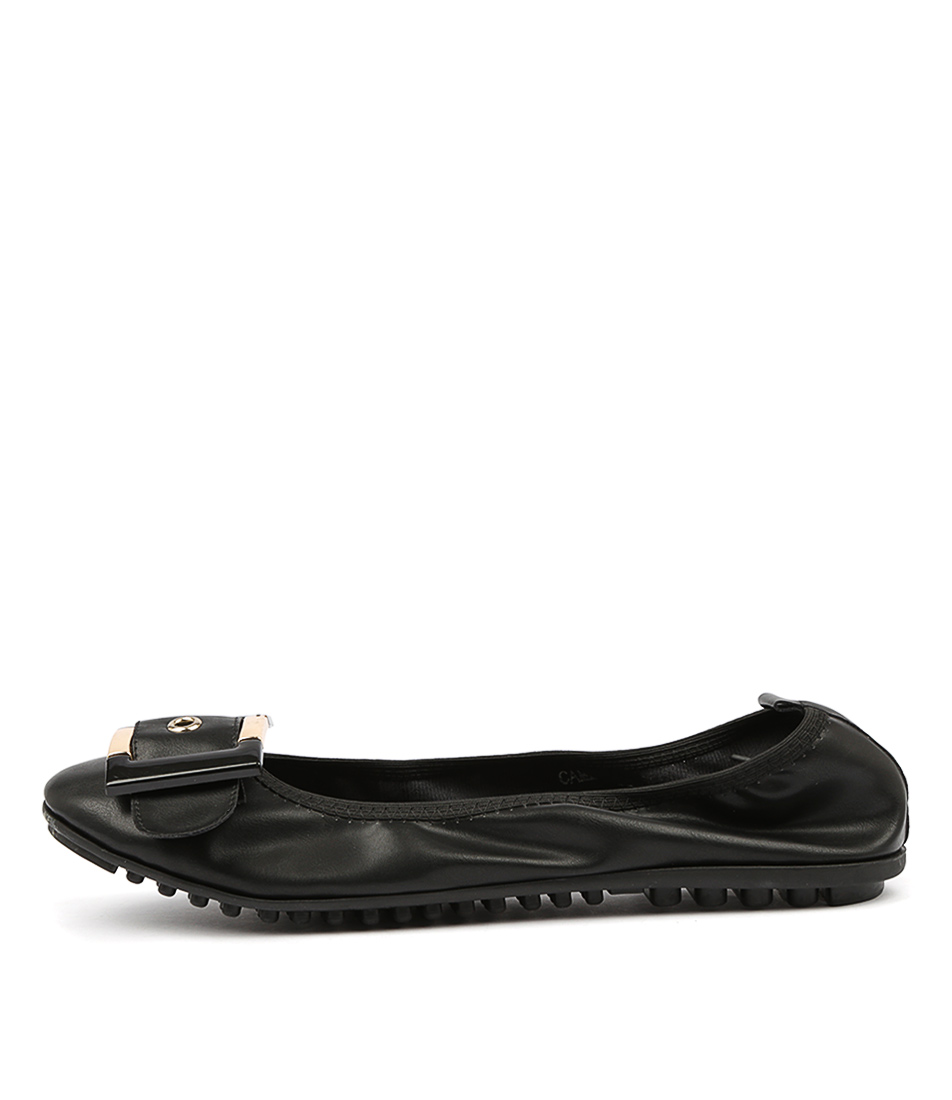 Buy I Love Billy Cammie Black Flats online with free shipping