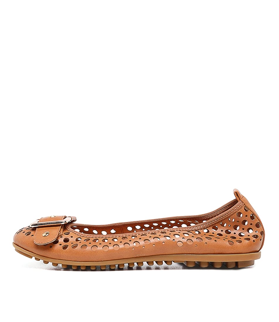 Buy I Love Billy Carra Tan Flats online with free shipping