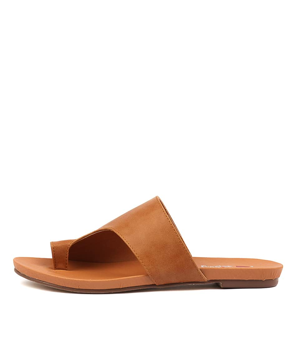Buy I Love Billy Jonnie Tan Flat Sandals online with free shipping