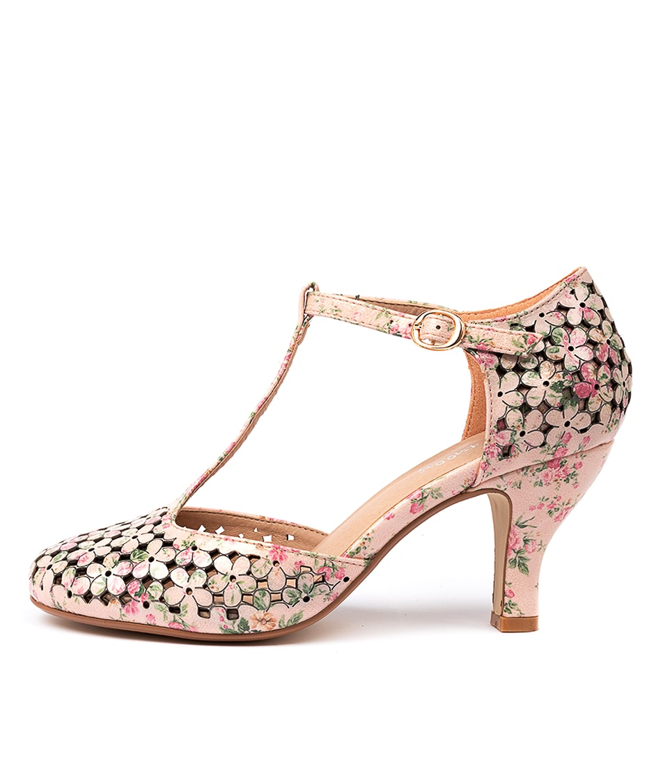 Buy I Love Billy Marisela Pale Pink Ant F High Heels online with free shipping