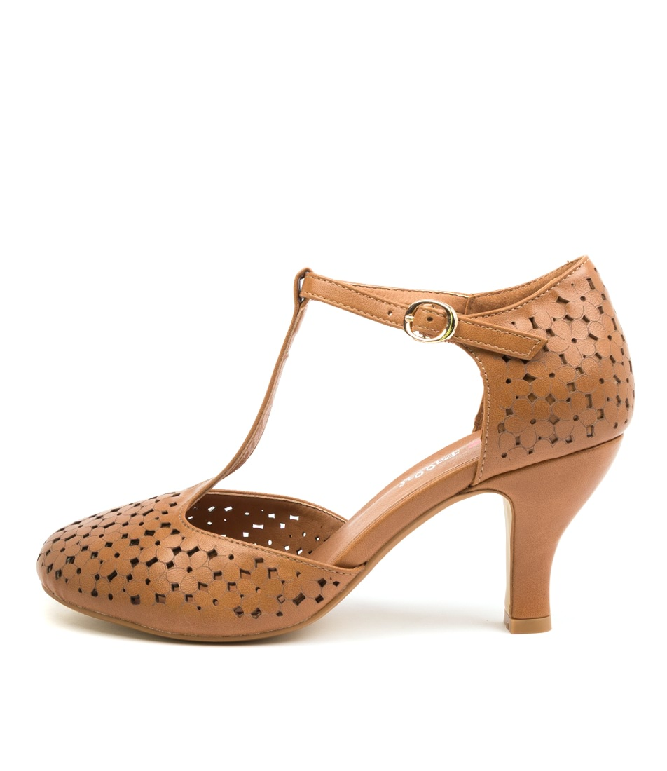 Buy I Love Billy Marisela Tan High Heels online with free shipping