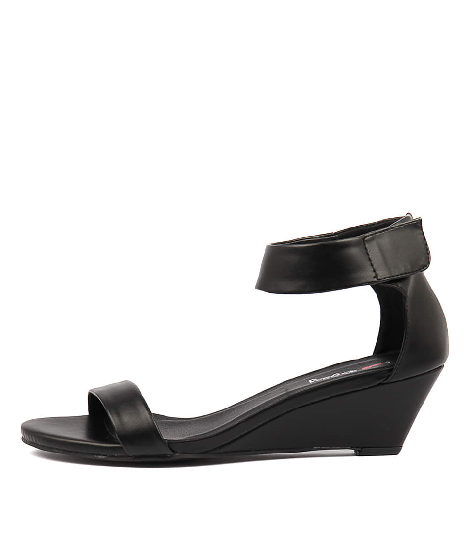 Buy I Love Billy Miesha Black Heeled Sandals online with free shipping