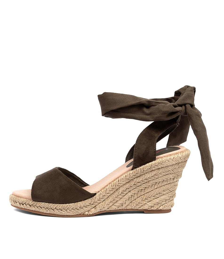Buy I Love Billy Wilford Khaki Heeled Sandals online with free shipping