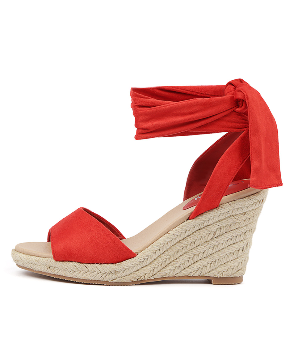 Buy I Love Billy Wilford Red Heeled Sandals online with free shipping