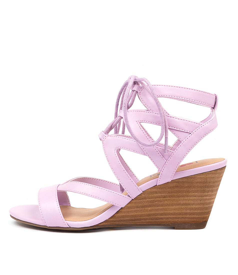 Buy I Love Billy Gillrose Lilac Heeled Sandals online with free shipping