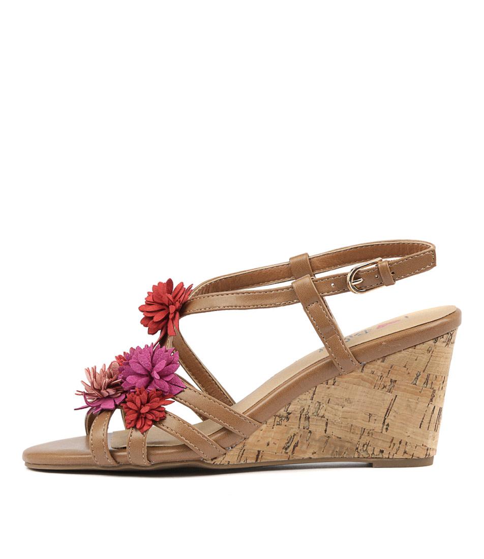 I Love Billy Winslet Tan Sandals