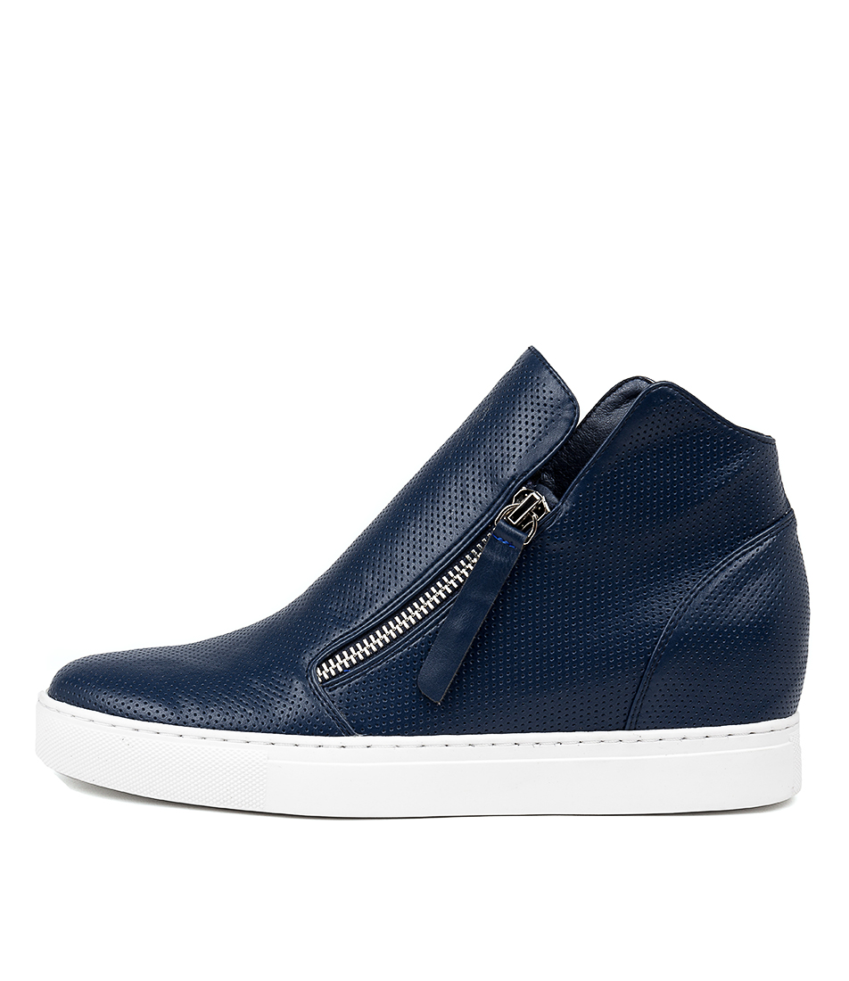 Buy I Love Billy Georgine Navy Ankle Boots online with free shipping