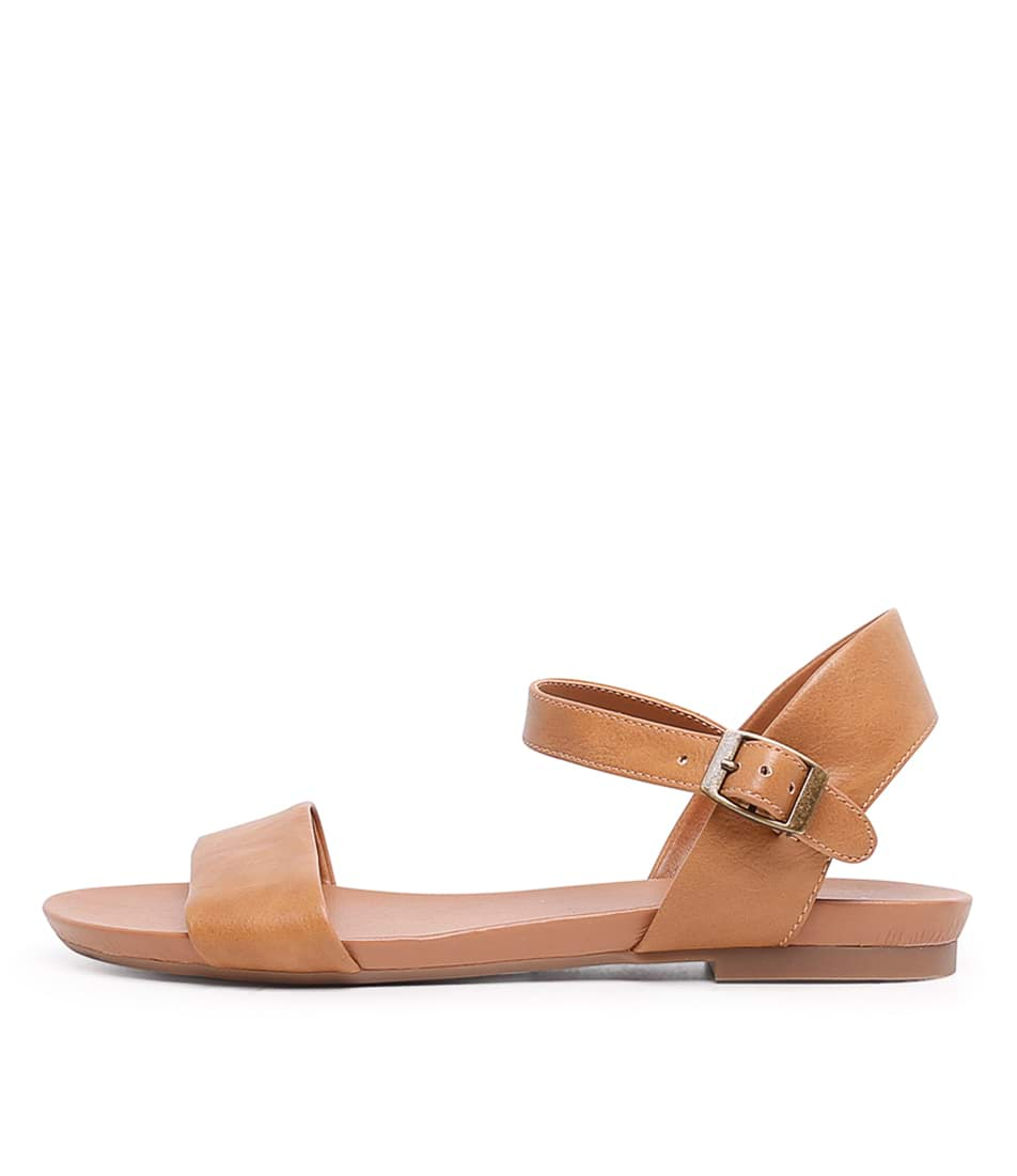 Buy I Love Billy Saratoga Tan Flat Sandals online with free shipping