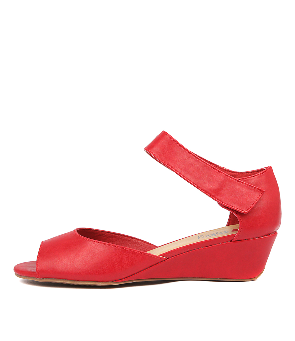 Buy I Love Billy Barries Red Flat Sandals online with free shipping