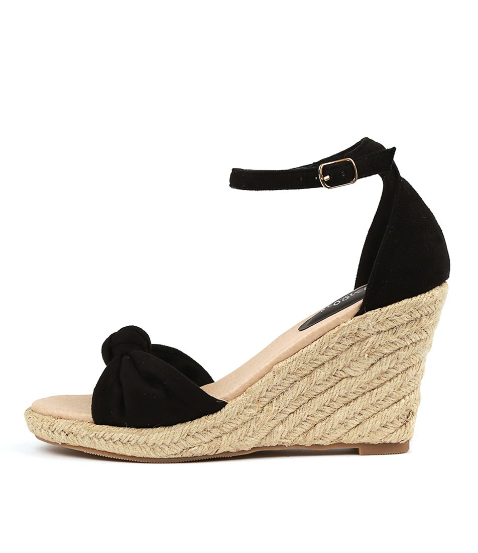 Buy I Love Billy Wammo Black Heeled Sandals online with free shipping